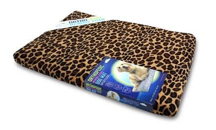 Leopard Print Memory Foam 23