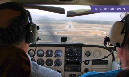 $89 for an Introductory Flight Lesson from Twin Cities Flight Training ($180 Value)