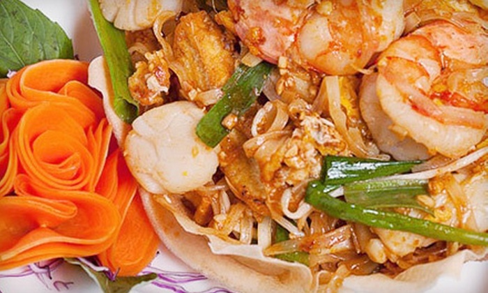 Asiam Thai - Gramercy Park: $24 for a Thai Dinner for Two Including Appetizers, Entrees, and Chang Thai Beers at Asiam Thai (Up to $55.80 Value)