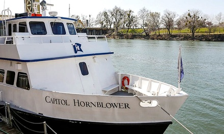 Santa Holiday River Cruise for Two Adults or a Family Four Pack from Hornblower Cruises & Events (Up to 40% Off)
