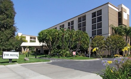 1-Night Stay for up to Four at The Hotel San Bernardino in Inland Empire, CA. Combine up to Five Nights.