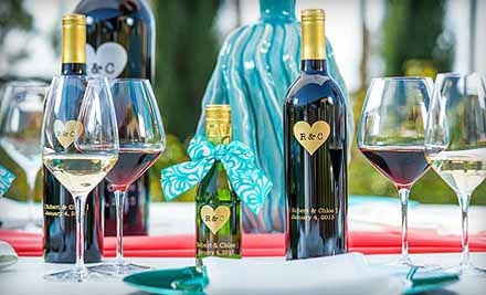 One, Two, Three, or Six Custom-Engraved Bottles of Wine from Miramonte Winery (Up to 55% Off) *