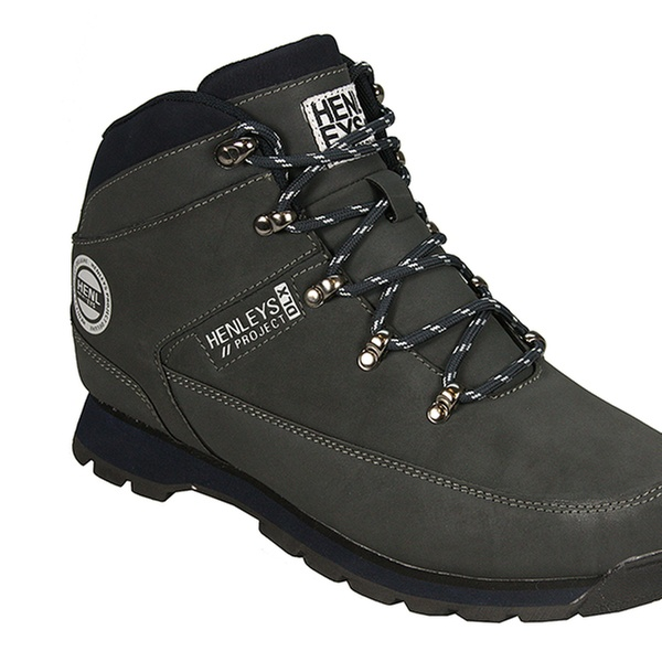 dce859b1d0e Men's Henleys Nubuck Hiking Boots in Choice of Colour for £23.99