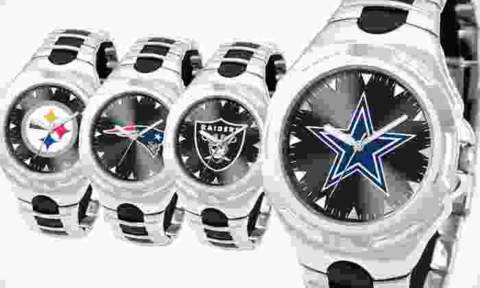 Game Time NFL Victory Men's Watches: $39 for a Game Time NFL Victory Men's Watch ($69.95 List Price). 32 Team Logos Available. Free Shipping.