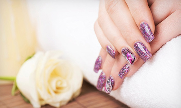 Maria Lopez - Maria Lopez: Regular or No-Chip Manicure with Regular Pedicure from Maria Lopez (57% Off)
