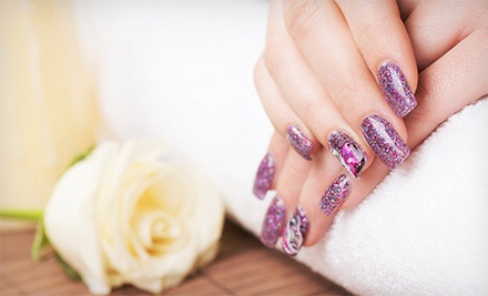 Regular or No-Chip Manicure with Regular Pedicure from Maria Lopez (57% Off)