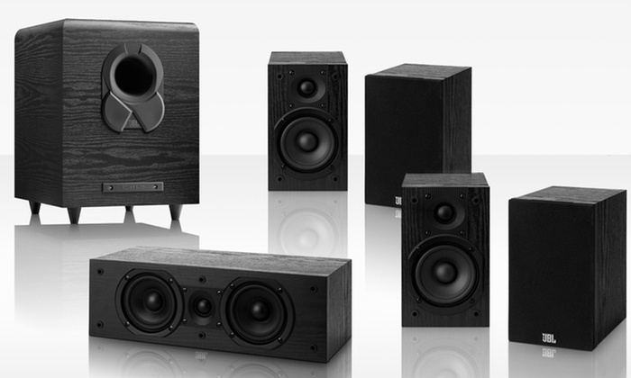 JBL 5.1 Home-Theater Sound-System Bundle: JBL Home-Theater System Sound System with Central Speaker, 4 Bookshelf Speakers, and Subwoofer. Free Shipping & Returns.