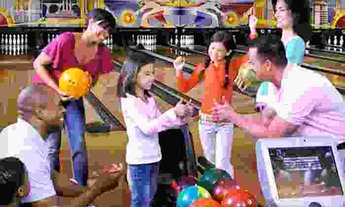 AMF Bowling Centers - AMF Brookgate Lanes: Two Hours of Bowling and Shoe Rental for Two or Four at AMF Bowling Centers (Up to 46% Off)
