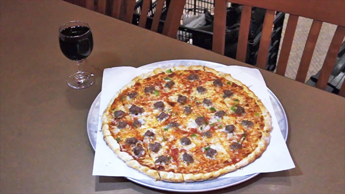 Sammy Perrella's Pizza & Restaurant  - Multiple Locations: Food and Drinks for Two or Four at Sammy Perrella's Pizza & Restaurant (47% Off). Two Locations Available.