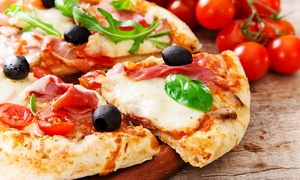 New West: Menu con antipasto, maxi pizza sul tagliere o pizza al metro e birra da New West (sconto fino a 71%)
