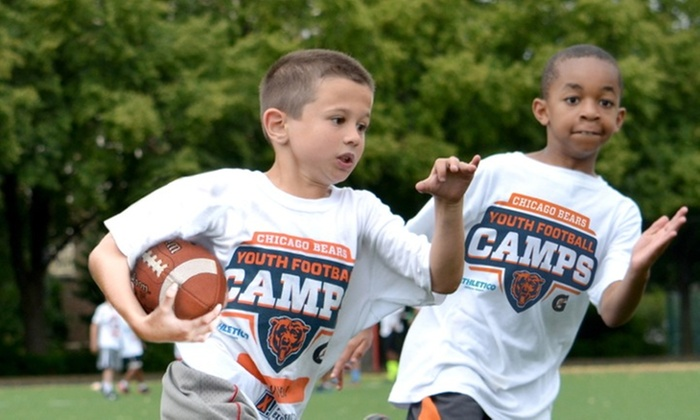 Chicago Bears Youth Football Camps - Multiple Locations: Chicago Bears Non-Contact Instructional Youth Football Camps, Five-Day Full or Half Day Option, Ages 6-14. 24 Locations