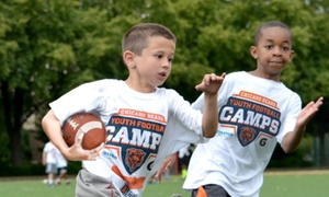 Chicago Bears Youth Football Camps: Chicago Bears Non-Contact Instructional Youth Football Camps, Five-Day Full or Half Day Option, Ages 6-14. 24 Locations
