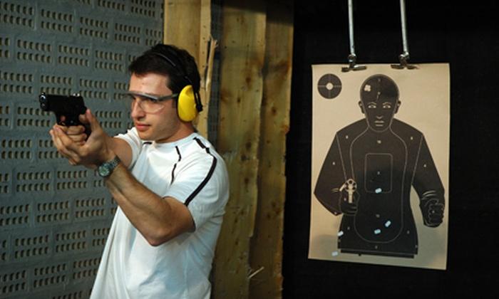 Hatfields Gunsmithing Inc. - Manassas: Firearm-Simulator Sessions at Hatfields Gunsmithing Inc. in Manassas (Up to 57% Off). Three Options Available.