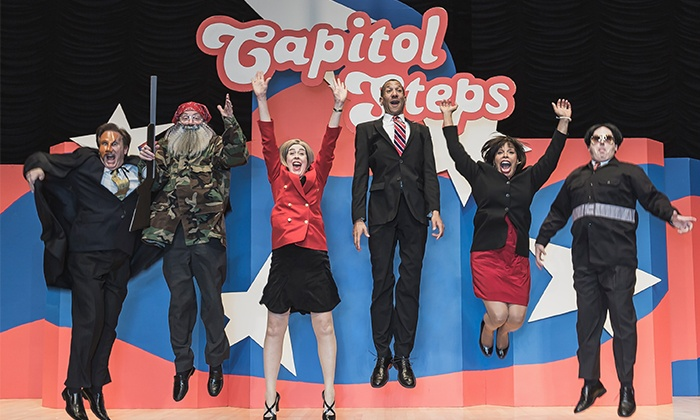The Capitol Steps  - Count Basie Theatre: The Capitol Steps on Friday, October 23, at 8 p.m.