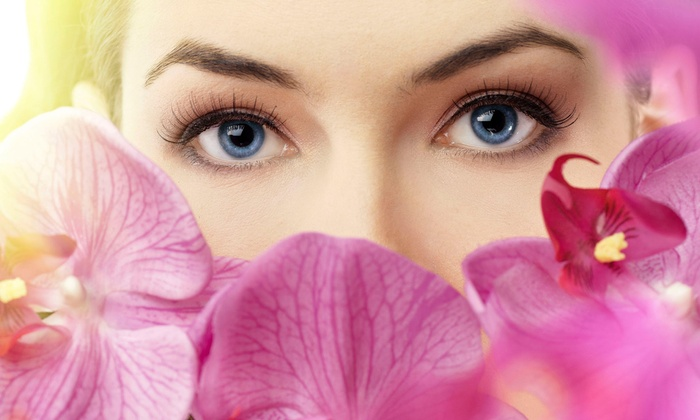 Rose Scruggs at Sharon's Spa - Downtown Royal Oak: Lash Extensions with Optional Refill or Makeup Lesson and Brow Shaping from Rose Scruggs at Sharon's Spa (Up to 61% Off)
