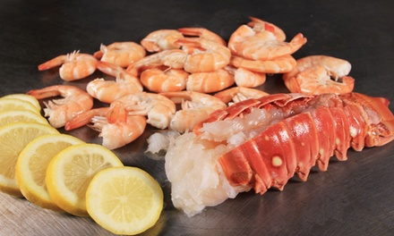 Japanese Teppanyaki Food at Hana Japan Steak & Seafood (Up to 40% Off). Three Options Available.