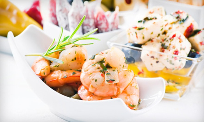 Liquid Kitchen - Downtown New Rochelle: Tapas with Sangria, Wine, or Cocktails for Two or Four at Liquid Kitchen (Up to 57% Off)