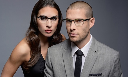 Prescription Eyeglasses or Non-Prescription Designer Sunglasses at Europtics (Up to 75% Off)