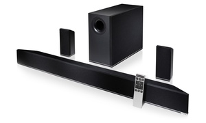 "Vizio 42"" 5.1-channel Home Theater Sound Bar With Wireless Subwoofer And Satellite Speakers (refurbished)"