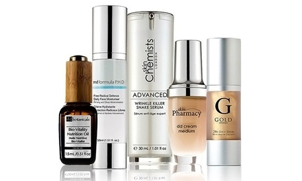 Luxury Beauty and Skincare Products on Feellikebeauty.com (50% Off). Three Options Available.