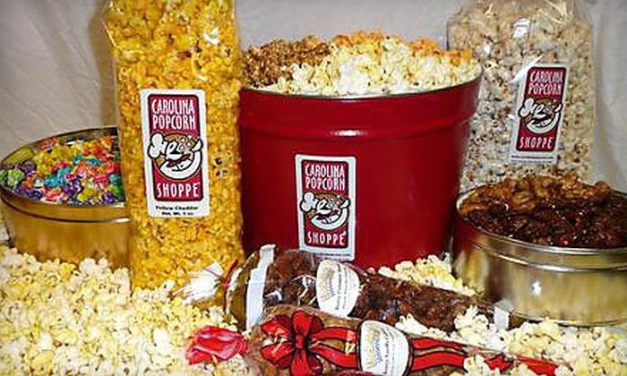 Carolina Popcorn Shoppe - Southwest Raleigh: $10 for $20 Worth of Gourmet Popcorn at Carolina Popcorn Shoppe