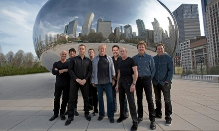 Chicago and Earth, Wind & Fire on Friday, April 15, 2016, at 7:30 p.m.