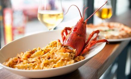 Menu Fin Gourmet franco-italien en 4 services pour 2 ou 4 personnes dès 39,99 € au restaurant le Don Camillo