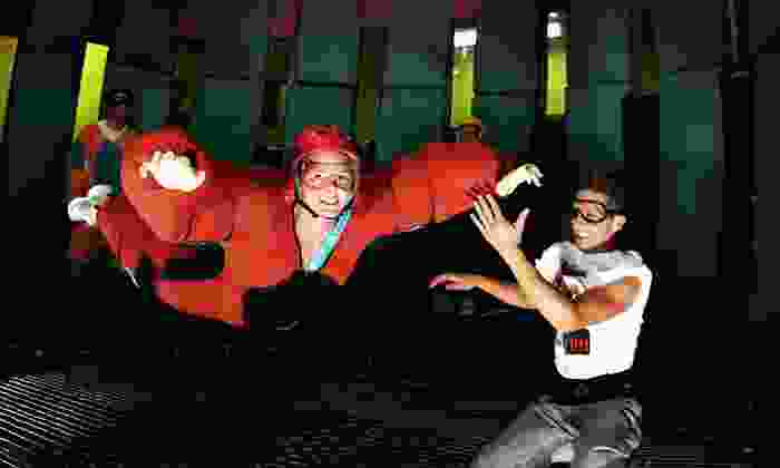 Flyaway Indoor Skydiving - Pigeon Forge: Indoor Skydiving with Flight-Footage DVD for One, Two, or Up to Five at Flyaway Indoor Skydiving (Up to Half Off)