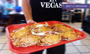 Crab Corner: Meal for Two or $50 or $75 Toward Food and Drinks at Crab Corner (Up to 36% Off)