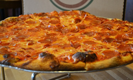 $12 for $20 Worth of Italian-Inspired Pizzeria Fare at Pete's New Haven Style Apizza