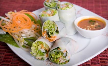 Dinner for 2 - Naga Thai Kitchen in Dallas