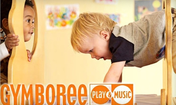 Gymboree Play & Music - Citrus Heights: $39 for One Month of Kids' Classes with Initiation Fee at Gymboree Play & Music (Up to $115 Value)
