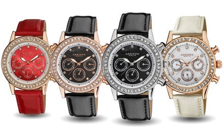 Akribos XXIV Women's Multifunction Watch