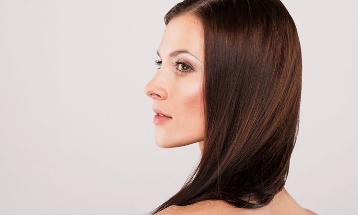 Hair Gallery - Mission Viejo: Cut, Blowout, and Conditioning with Optional Single-Process Color or Partial Highlights at Hair Gallery (Up to 61% Off)