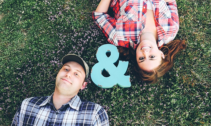 AB Photography LLC - Denver: $129 for an Engagement Photo Package from AB Photography LLC ($300 Value)
