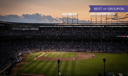 Rooftop View of Cubs Game All Inclusive at Lakeview Baseball Club (Up to 45% Off). Multiple Options.