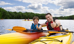 Semois Kayaks: Stand-up paddle (+/- 1h - 4km) ou descente en kayak bi-places (+/- 3h30 - 15 km) pour 2 personnes dès 18,99 €
