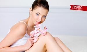 Sassi parrucchieri estetica: 3 o 6 cerette gambe intere e inguine oppure total body (sconto fino a 85%)