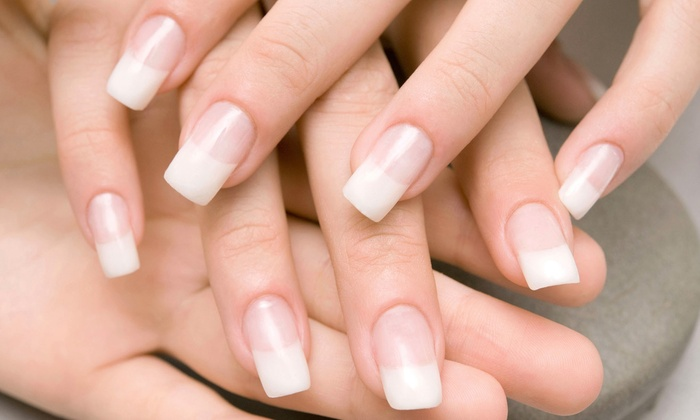 Pour L'Image - Bryn Mawr: Pedicure with Optional Manicure at Pour L'Image (Up to 50% Off)