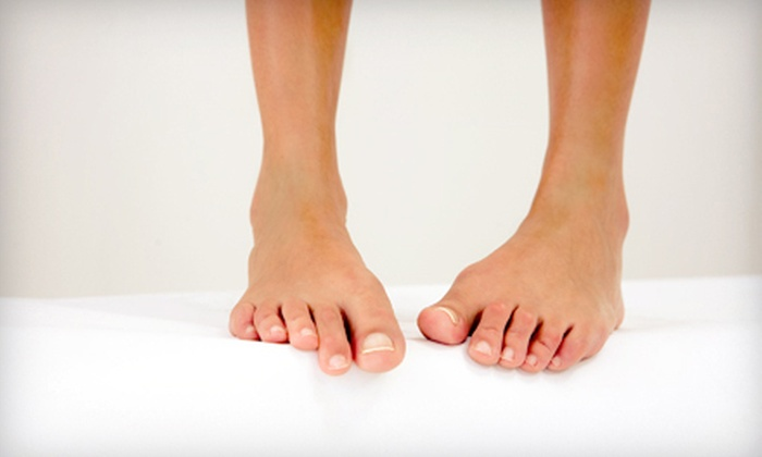 Warheit Podiatry - Buffalo Grove: $250 for Three Sessions of Laser Nail-Fungus Removal for Both Feet at Warheit Podiatry ($750 Value)