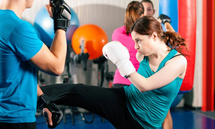 Dance Co. - Upper B Street: One or Three Months of Cardio Kickboxing and Boot-Camp Membership at Dance Co (Up to 76% Off)