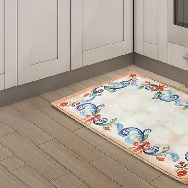 "Nicole Miler 20/""x39/"" Anti-Fatigue Embossed Floor Mat"