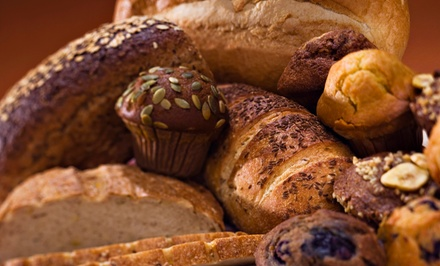 $10 for Four Groupons, Each Good for $5 Worth of Baked Goods at Our Daily Bread Bakery ($20 Total Value)