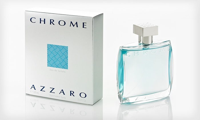 Chrome by Azzaro Men's Eau de Toilette Spray: Chrome by Azzaro Men's 3.4 Fl. Oz. Eau de Toilette Spray
