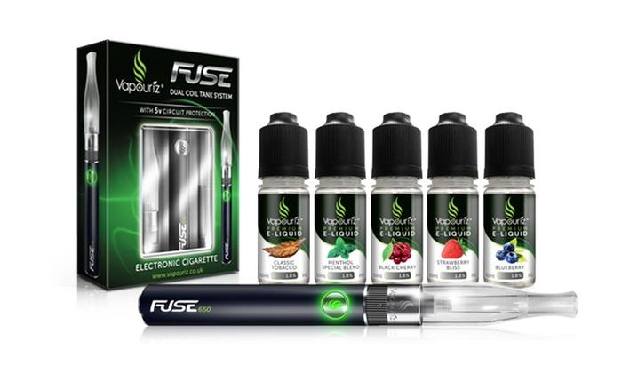 Fuse E-Cigarette Starter Kit | Groupon Goods