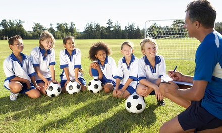 $89 for a Five-Day Soccer Camp for Kids at EuroSoccer Camps ($135 Value)