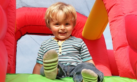 5 or 10 Inflatable-Park Open-Play Passes to Pump It Up (Up to 49% Off)