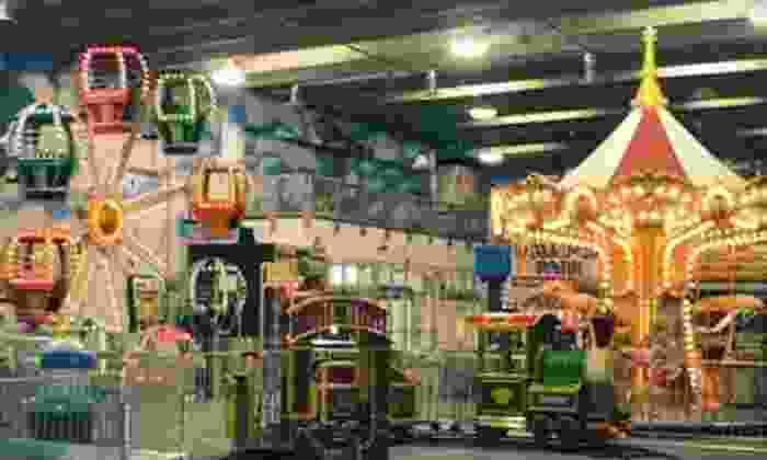 Lollipop Park - Centennial: $9 for One Day of Unlimited Indoor Kids' Amusement Rides at Lollipop Park ($14.95 Value)