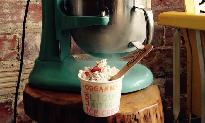 Piccadilly Artisan Creamery - University: Ice Cream at Piccadilly Artisan Creamery (Up to 45% Off)