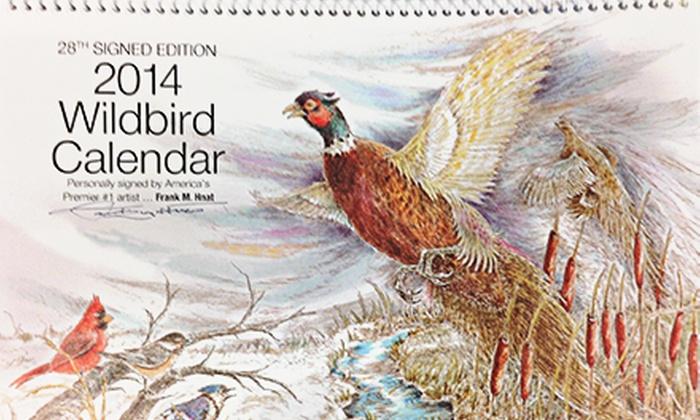 Frank Hnat Wildbird Artist - Pittsburgh: $5 for a 2014 Wild-Bird Art Calendar from Frank Hnat Wildbird Artist ($9.99 Value)